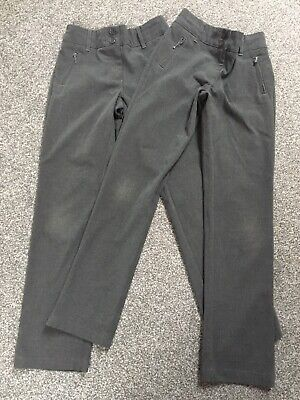 Marks & Spencer Girls School Trousers Age 8-9 Yrs