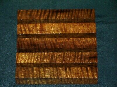 Aaaaa Curly Asian Ironwood Pen Blanks #0311
