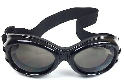 Goggles - Black - Hot Topic - New - Cosplay - Adjustable Strap