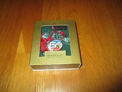 Marquis Waterford Peanuts Collection Snoopy Crystal Holiday Christmas Ornament