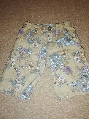 Girls 3/4 Length Cargo Trousers 2 - 3 Years Next