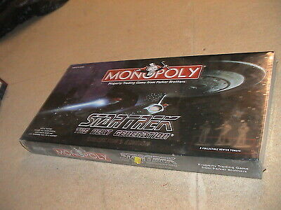 """Star Trek: The Next Generation Monopoly Collector""""s Edition -sealed"""
