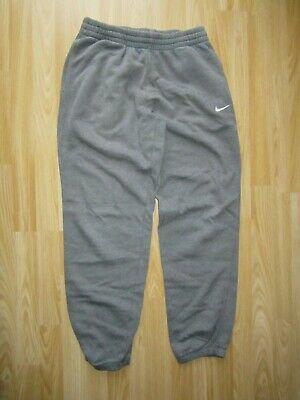 Mens NIKE Tracksuit Grey Warm Trousers Bottoms Size M Medium Great Condition