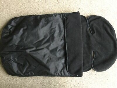 Genuine Mothercare FOOTMUFF COSYTOES in  lack