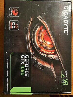 Gigabyte Geforce GTX 1060 6GB OC Edition