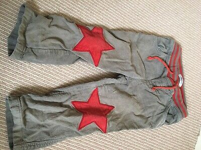 Mini Boden Star Knee Patch Trousers Boy/girl Age 2-3 Years