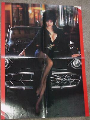 Elvira Mistress Of The Dark Poster Cassandra Peterson