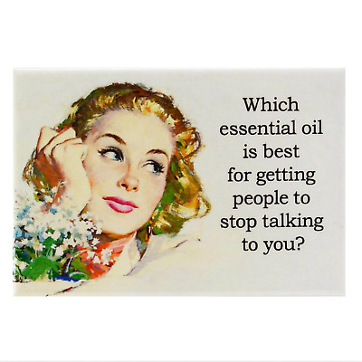 Which Essential Oil Is Best Fridge Magnet Funny Decor Retro Novelty Gift Humour