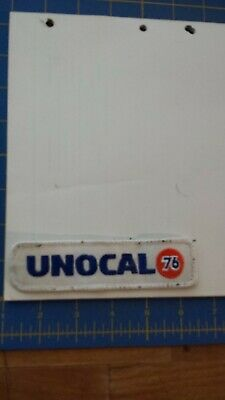 Unocal Union 76 Gas Oil Company  Rare Old Vintage Embroidered Patch