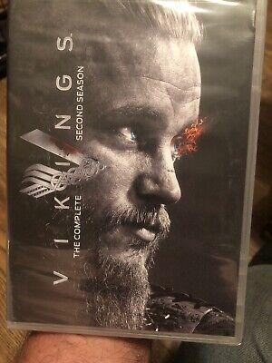 Vikings TV Series The Complete Second Season DVD 3 Disc 2014 Factory Sealed NEW