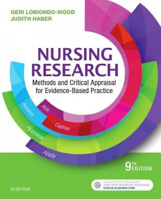 Nursing Research: Methods and Critical Appraisal for Evidence-Based Practice.
