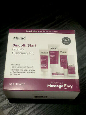 MURAD AGE REFORM HEALTHY SKIN REGIMEN KIT 5 pcs Smooth Start 30 Day Discovery