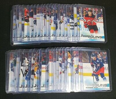 2019-20 19-20 Hughes Upper Deck Series 1 Young Guns Full 50 Card Set 201-250 Qty