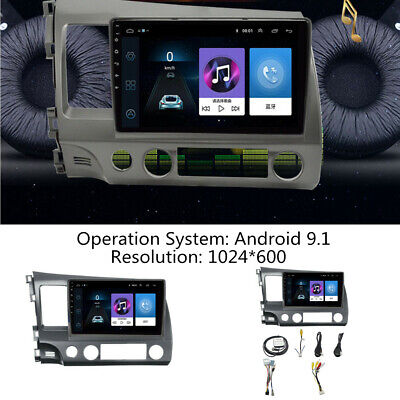 """10.1""""Android9.1 Stereo Radio GPS Navigation FM USB WiFi/3/4G Fit For Honda Civic"""