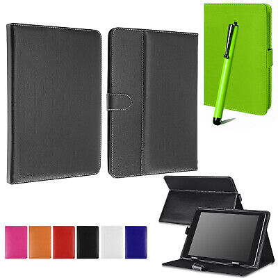 "Universal Book Flip PU Leather Case Cover For All Amazon Kindle Fire 7"" 10"" Tab"