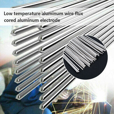 1/5/10X NEW Easy Melt Aluminum Welding Rods Low Temperature Wire Brazing Rod's