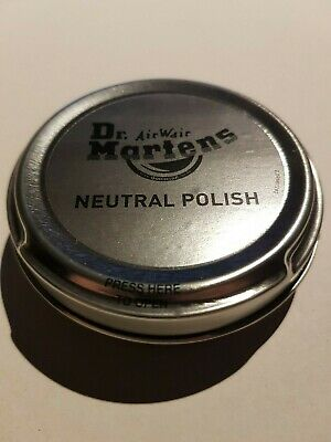 Doc Dr Martens Neutral Shoe and Boot Polish in Signature Tin - 50ml