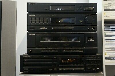 Pioneer RX-Z16 Double Cassette Deck Receiver & PD-T507 Twin CD player & Speakers