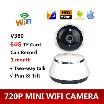 V380 Phone APP HD 720P Mini IP Camera Wifi Camera Wireless P2P Security Cam A3G4