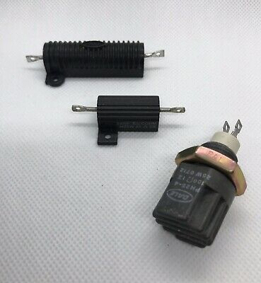 Ghostbusters proton pack resistor lot of Dale Ph25, Rh50 w/ oval logo & Sage