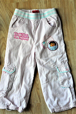 LovelyThick Pink Nick JR Dora the Explorer trousers age 2-3. Height up to 104cm