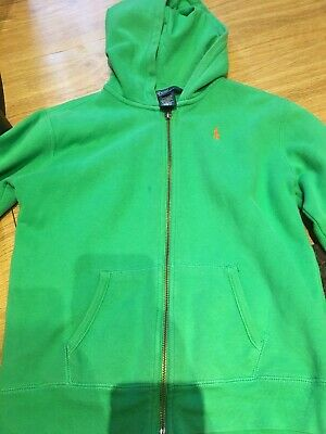 polo ralph lauren hoodie Green Size 7 Years Old