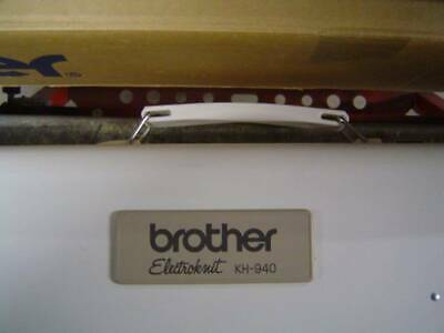Brother KH940 Electroknit good condition