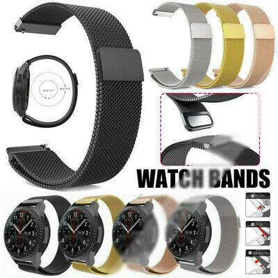 Adjustable Magnetic Milanese Loop Watch Strap Wristband For Huawei GT2 42mm 46mm