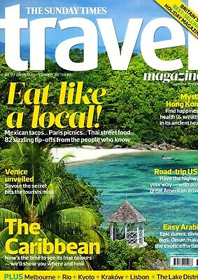 The Sunday Times Travel Magazine, November 2017
