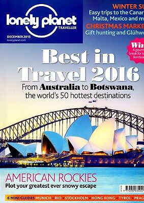 Lonely Planet Traveller Magazine, December 2015 plus Yunnan supplement