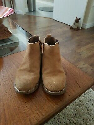 Boys River Island Light Tan Chelsea Boots