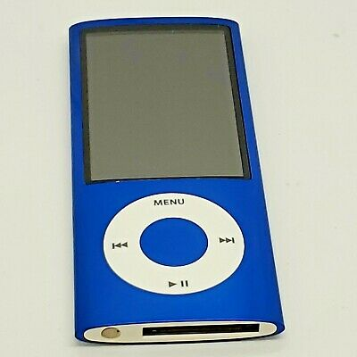 Apple iPod nano 5th Generation Blue 8GB - with issue READ