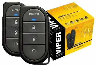 Viper 4105V Remote Starter 1-Way TWO 4-Button Remotes NEW 4105 REMOTE START ONLY