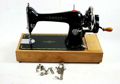 Vintage Singer 66K Hand Crank Sewing Machine c1921 - FREE Delivery [5667]