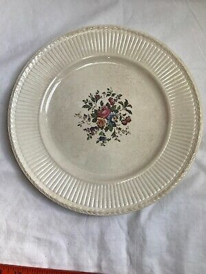 WEDGWOOD Edme Dinner Plate Flowers Au8 384 Made In England