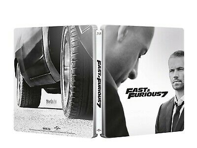 FAST AND FURIOUS 7 -blu ray-STEELBOOK edizione ita . sigillato