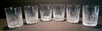 """*VINTAGE* Waterford Crystal 451-172 (1978-) 6 Old Fashioned 3.5"""" Made IRELAND"""