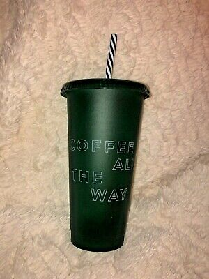 Starbucks 2019 Holiday Christmas Reusable Cold Cup Green Venti BRAND NEW