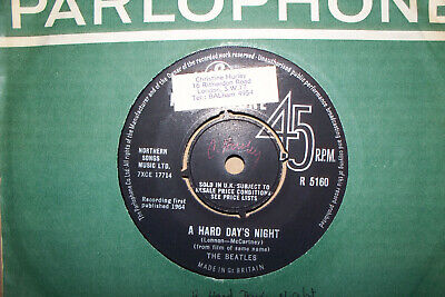 The Beatles,  A Hard Days Night,  Parlophone Records 1964  Mint-