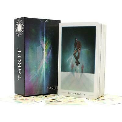 Tarot Cards Deck Game Oracle Cards English Version Playing Cards Game + Case