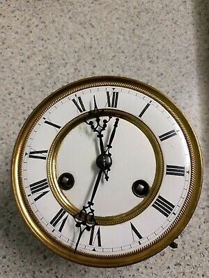 "5 1/2"" Diameter Vienna Clock dial, Movement, And Bracket"