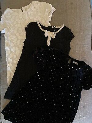 Girls Next Zara Dress Dresses X 3 Set Bundle Age 5-6 Years