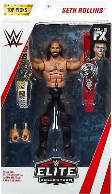 Mattel Wwe Top Picks Elite Collection Action Figures - Seth Rollins - New Boxed