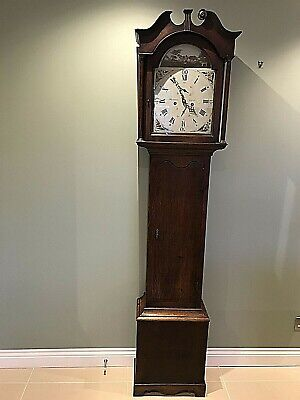 Grandfather/Clock Longcase/Scottish PT. Fenwick Crieff  18th Century