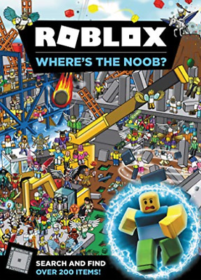 Official Roblox-Roblox Wheres The Noob (US IMPORT) HBOOK NEW