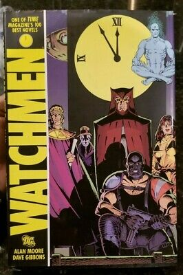 Watchmen by Alan Moore (2008 Hardcover 1st Print) and Art of Watchmen Film Book