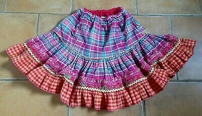 Oilily ! Age 5 Yrs ( 110 Cms ) ! Gorgeous  Checked Skirt ! Ideal For Winter