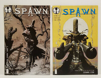 Spawn # 174 175, 1st Gunslinger Spawn, 2 Book Lot (Image 2008)