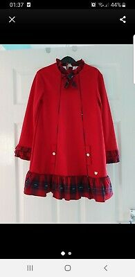 dolce petit dress age 12 more age 10 worn once red Christmas dress