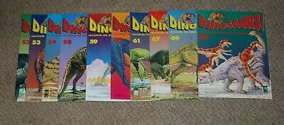 Orbis Play & Learn DINOSAURS! Magazines Issues 10 Issues